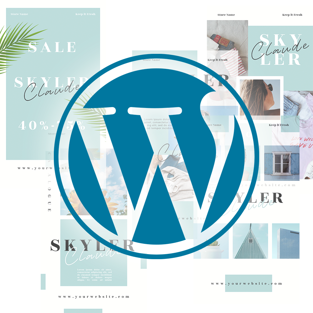 wordpress sablony